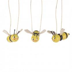 Behang Bienen, 3 Stück