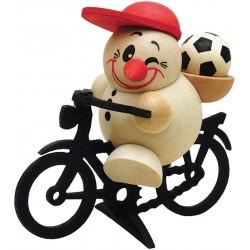 Cool Man Sportrad mit Fußball