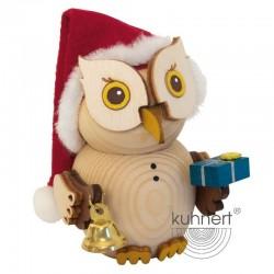 MINI - Eule Weihnachtsmann