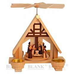 "Teelichtpyramide ""Christi..."