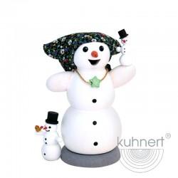 Räuchermann Schneefrau mit...