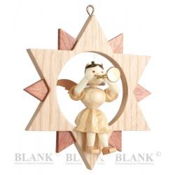 Blank Engel im Stern natur...