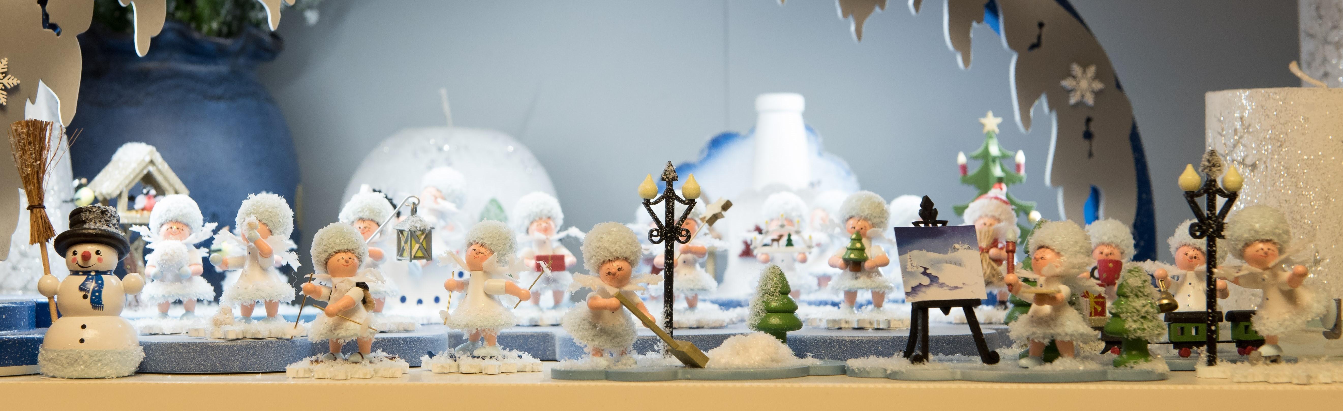 Erzgebirgisches Kunsthandwerk Schneeflöckchen